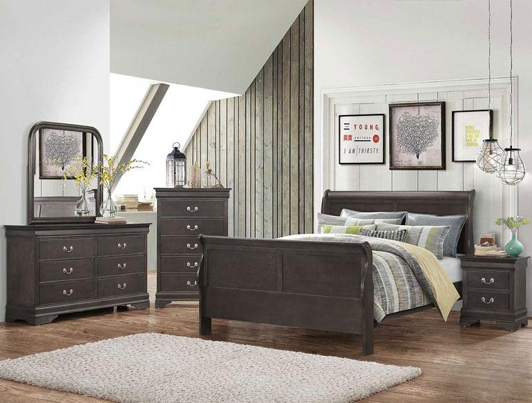 Hershel Louis Philippe Bedroom Set by Coaster SKU 201131