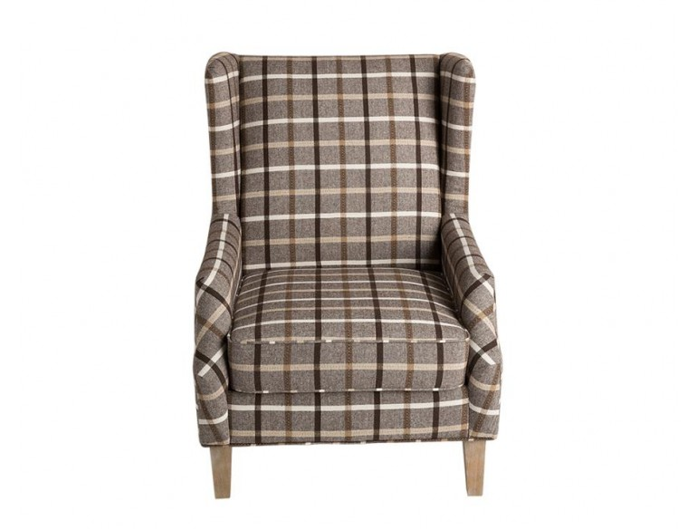 Groovy Scott Living Rustic Neutral Brown Weathered Gray Polyester Andrewgaddart Wooden Chair Designs For Living Room Andrewgaddartcom