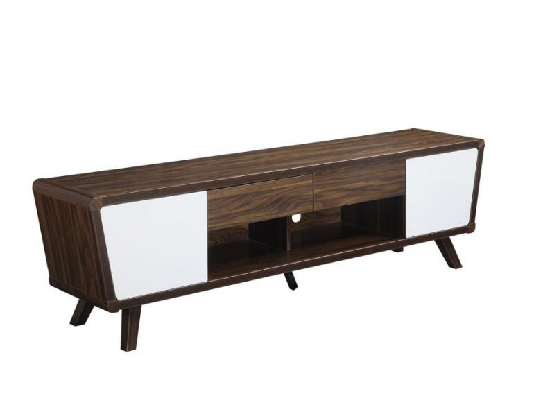 Jeff Two Tone Mid Century Modern Tv Console By Coaster 700793